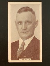 NO CREASING 1933 WILLS CIGARETTE CARD FOOTBALLERS JOCK MCHALE COLLINGWOOD