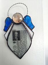 Handmade Stained Glass Remembrance Angels  ** Please see below **
