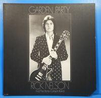 RICK NELSON GARDEN PARTY LP 1972 ORIGINAL PRESS GREAT CONDITION! VG++/VG+!!A