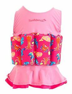 Konfidence Badeanzug Float Suit mit integriertem Auftrieb Mia Schwimmhilfe für o
