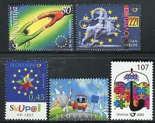 SLOVENIA 1999/2007 EUROPEAN ANNIVERSARY/EVENTS/TREATY of ROME/OCSE/SCHENGEN