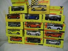 collection of shell sportsrcar collection.