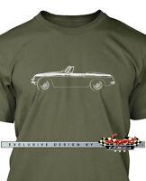 MG MGB Convertible Men T-Shirt  - Multiple Colors & Sizes - British Classic Car