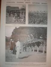 Photo Gymnastic training Japan army 1905