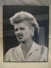 I Love Lucy - Lucille Ball - Wood Wooden 8 x 10 Still Hanging Wall Plaque