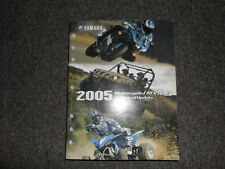 2005 Yamaha Motorcycle Scooter Atv SxS Technical Update Service Manual Factory