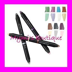Pencil Eyes 2 Colors Supershock Avon Eyeliner + Blush - Grey Silver Blue White