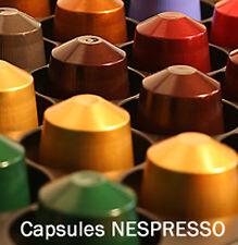 50 CAPSULES NESPRESSO - 22 SAVEURS AU CHOIX !! - VRAIES DOSETTES NEUVES