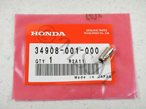 NEW HONDA STANLEY NOS SPEEDOMETER GAUGE INDICATOR LIGHT BULB 6V 1.5W 5050-003