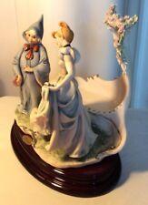 "Giuseppe Armani Figurine"" Cinderella and Fairy Godmother"" 1421 C Limited Edition"