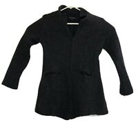 Eileen Fisher Black Wool Jacket Size Small