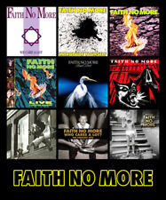 "FAITH NO MORE album discography magnet (4.5"" x 3.5"") mr. bungle metallica guns n"