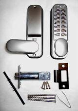 ASEC BOTÓN PULSADOR MECÁNICO DIGITAL Combinación Cerradura de puerta Teclado Código Sin Llave
