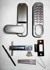 ASEC Push Button Mechanical Digital Combination Door Lock Key Pad Code Keyless