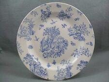 Queen's Toile Blue de  Jardin Dinner Plate