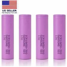 6pcs Lot Samsung Li-ion ICR-18650-30Q Rechargeable  3.6V 3000mAh Purple Battery