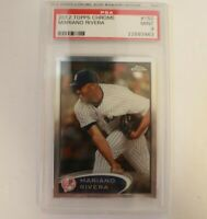 Mariano Rivera 2012 Topps Chrome #150 PSA 9 New York Yankees