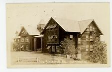 Pine Beach Hotel RPPC Brainerd MN Antique ca. 1937