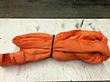 8 Foot Unitex Orange Polyester Round Sling 31000 Lbs Wll New Free Ups Ship