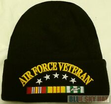 U.S. AIR FORCE USAF VIET NAM VIETNAM VETERAN VET WATCH CAP BEANIE KNIT WARM HAT