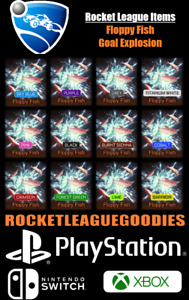 Rocket League Items - Floppy Fish Goal Painted - PS4 - PS5 - XBOX ONE - Switch