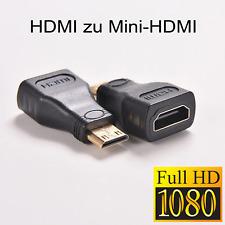 HDMI zu Mini HDMI Adapter Mini C Stecker HMDI Buchse 1.4 Tablet Smartphone 1080P