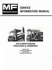 Massey Ferguson MF-1085 1105 1135 1155 Tractor Air Conditioning Service Manual