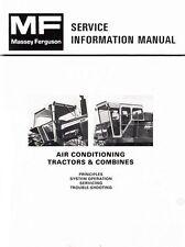 Massey Ferguson Mf 1085 1105 1135 1155 Tractor Air Conditioning Service Manual
