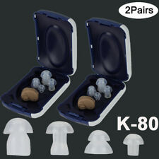 2x In Ear Invisible Best Sound Amplifier Adjustable Tone Hearing Aid K-80 Assist