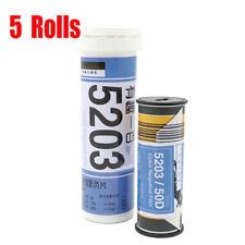 5 Rolls Kodak Vision3 50D/5203 ISO 50 120 Cine  Color Negative Film
