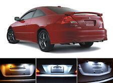 Xenon White License Plate / Tag 168 LED light bulbs for Honda Accord (2Pcs)
