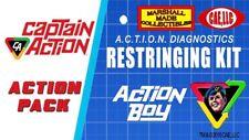 Licensed Vintage Ideal Action Boy / Kid Action Figure Re-String Kit Captain