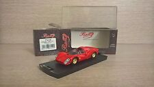 FERRARI 330 P4S 1967 SCALA 1:43 BANG ROSSO/RED MADE IN ITALY
