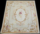 Antique 19th Century Rare 6' x 9' French Aubusson Rug
