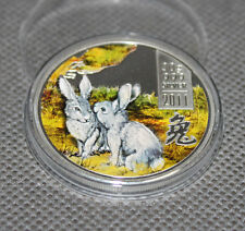 Cook Islands 2011 5$ Year of the Rabbit 30 g Proof Silver Coin