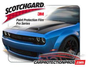 2019 Dodge Challenger SRT Hellcat 3M Pro Series Deluxe Paint Protection Film Kit