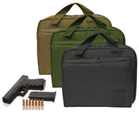 Nylon Multiple Compartments Tactical Gun Magazine Holder Carrying Case CCW