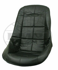 VW BUG BAJA ROCK CRAWLER SAND RAIL POLY LOW-BACK VINYL SEAT COVER, BLACK