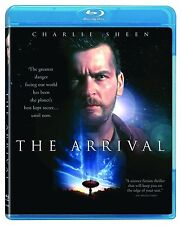 The ARRIVAL (1996) CHARLIE SHEEN BLU RAY NEW AND SEALED REGION FREE