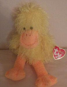"Ty Punkies Splash Yellow Duck 10"" Plush Toy Stuffed Animal"