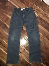 Boys Levis 514 Slim Fit Straight Leg 16 Reg 28X28 Jeans Denim