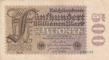 1923 Germany 500 Million Mark Note, Pick 110d