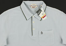 """Men's PENGUIN Pearl """"Blue"""" Gray Polo Shirt Small S NWT NEW Classic Fit Nice!"""