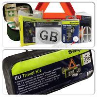 Sakura Car Safety Abroad Legal EU European Essential Travel & Breakdown Kit Set