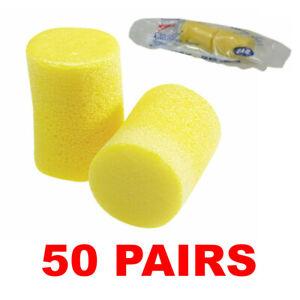 3M 312-1201 Classic Disposable Foam Ear Plugs (50 Pair)