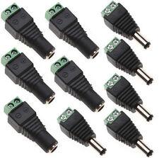 5x PC-009 Stecker zur DC-Stromversorgung weiblich 3,5//1,3mm 3,5mm Sony