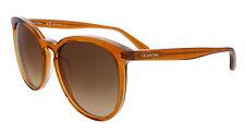 Valentino V726S 233 Rust Round Valentino Sunglasses