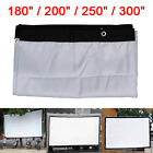 16:9/4:3 Large Outdoor KTV Foldable Projection Projector Screen 180/200/250/300