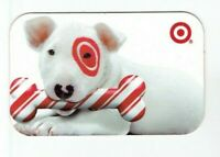 Target Gift Card Bullseye Dog with Striped Bone - 2008 - No Value - I Combine