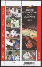 Belgium**Belgian JUDO Champions-SHEET 6vals-2005-Martial Arts Martiaux-Bloc